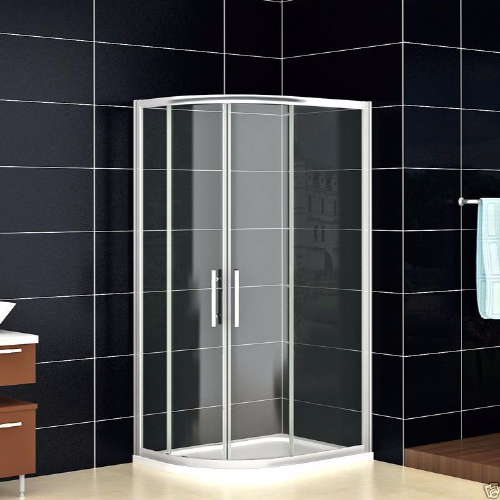 1000MM X 800MM OFFSET QUADRANT SHOWER ENCLOSURES